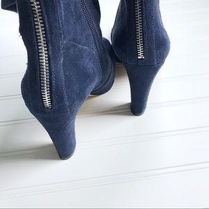 Ivanka Trump Shoes - •Ivanka Trump• NWOB Navy Sennet boots